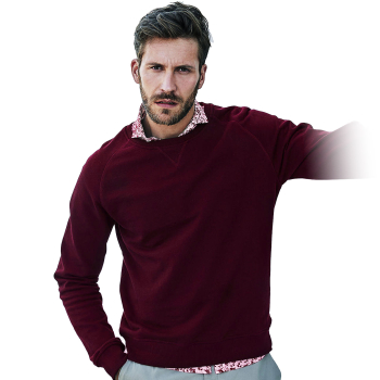 Herren Sweatshirt URBAN SWEAT bordeaux Gr. XL